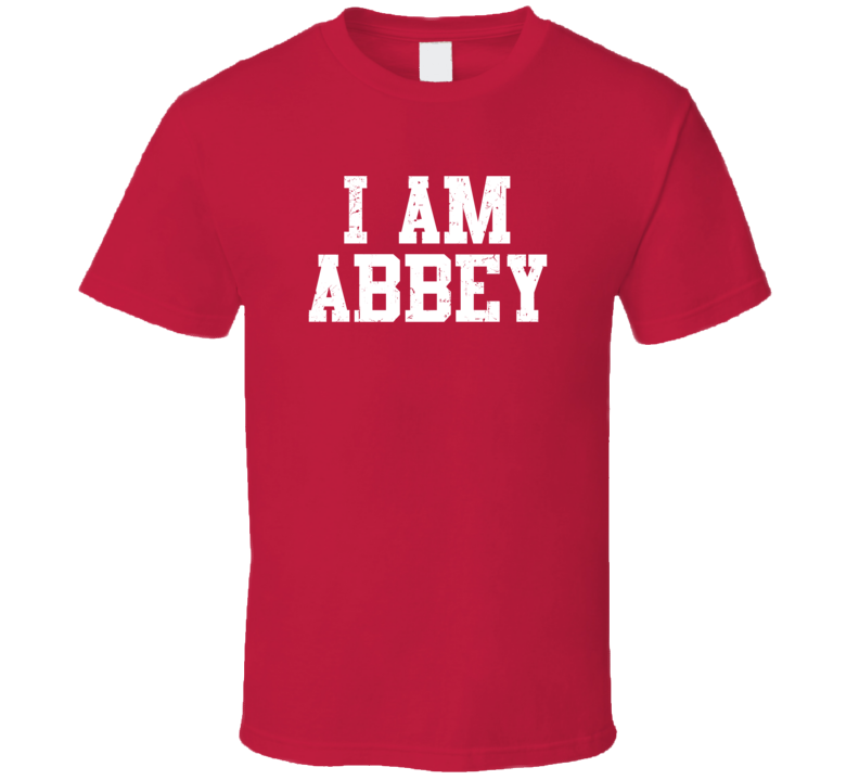 I Am Abbey If Lost Return To Husband Wife Couple Funny Valentines Gift T Shirt