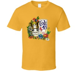 Colt 45 Fastimes at Ridgemount High Jeff Spicoli Retro T Shirt