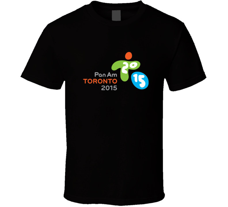 2015 Toronto Pan Am Games Logo T Shirt