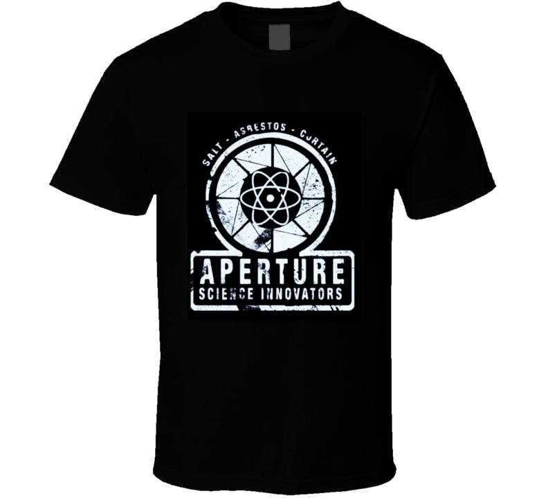 Aperture Science Innovations Portal T Shirt