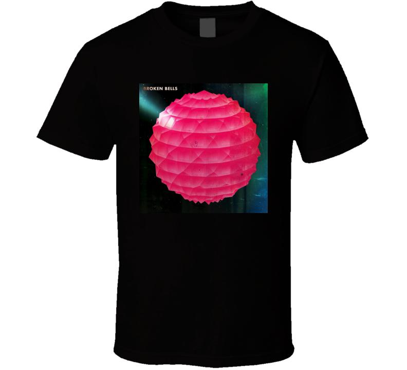 Broken Bells Album Cover Grunge T Shirt