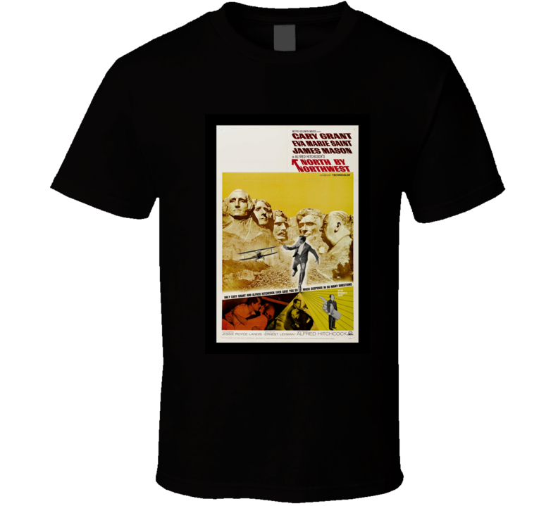 North by Northwest Classic Movie Poster T-Shirt