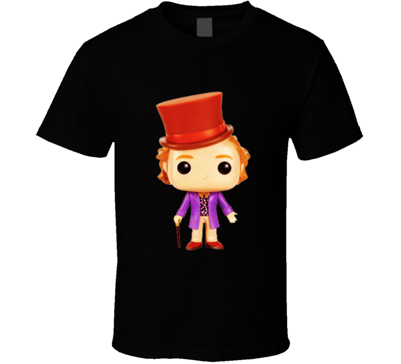 Willy Wonka Figure T-Shirt
