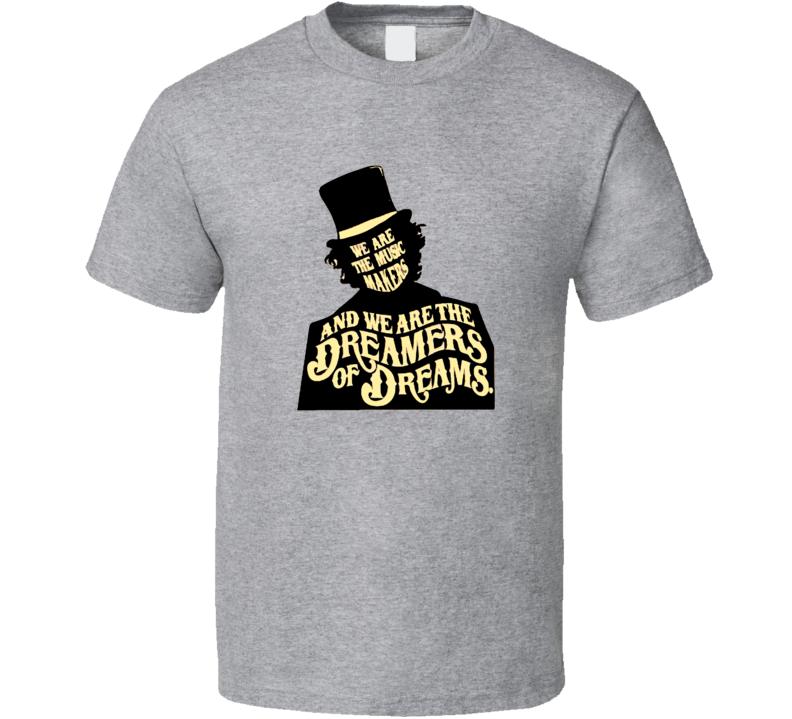 Willy Wonka Chocolate T-Shirt