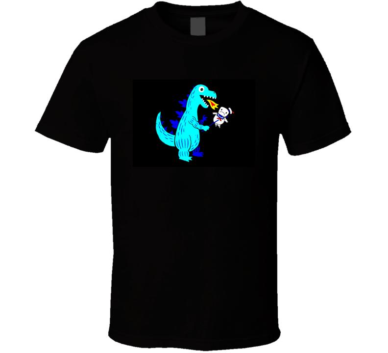 T-Rex loves marshmallow t-shirt