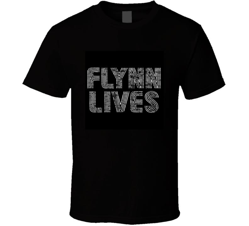 Flynn Lives tron vintage T-Shirt