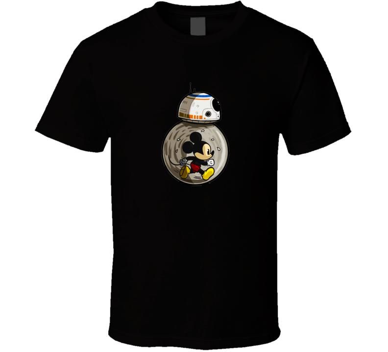 Mickey Mouse Star wars r2 d2 shirt tshirt tee