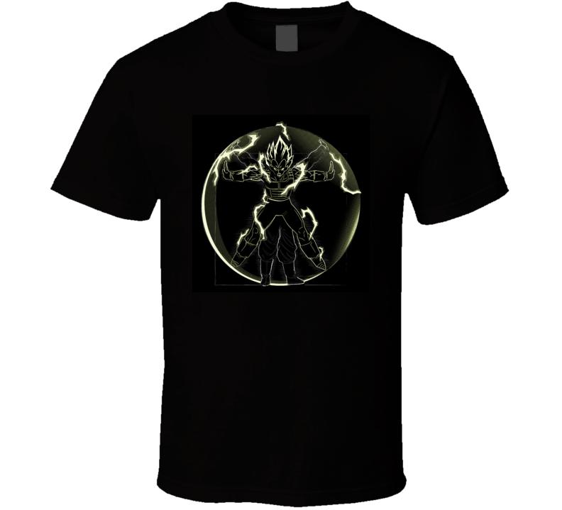 vitruvian man vegeta Dragon Ball Super T-Shirt
