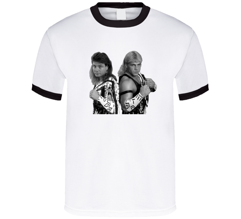 The Rockers Shawn Michaels Marty Jannetty Retro Wrestling T Shirt
