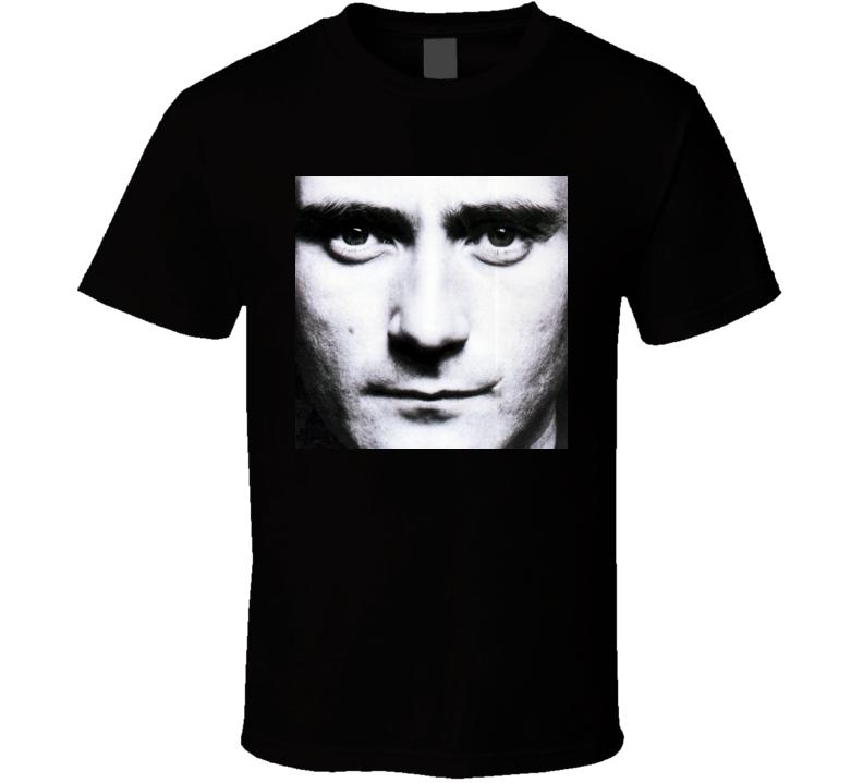 Phil Collins Face Value T Shirt