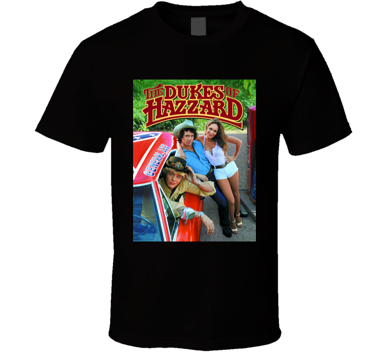 The Dukes of Hazzard Original TV Show Vintage Distressed T Shirt