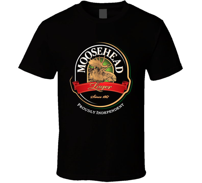 Moosehead Beer Retro Advertising Canadian Beer T Shirt