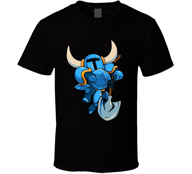 Shovel Knight 8 Bit Cool Art Video Game T-Shirt