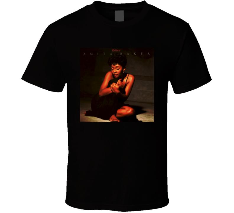 Anita Baker Rapture Album Cover Image  T Shirt