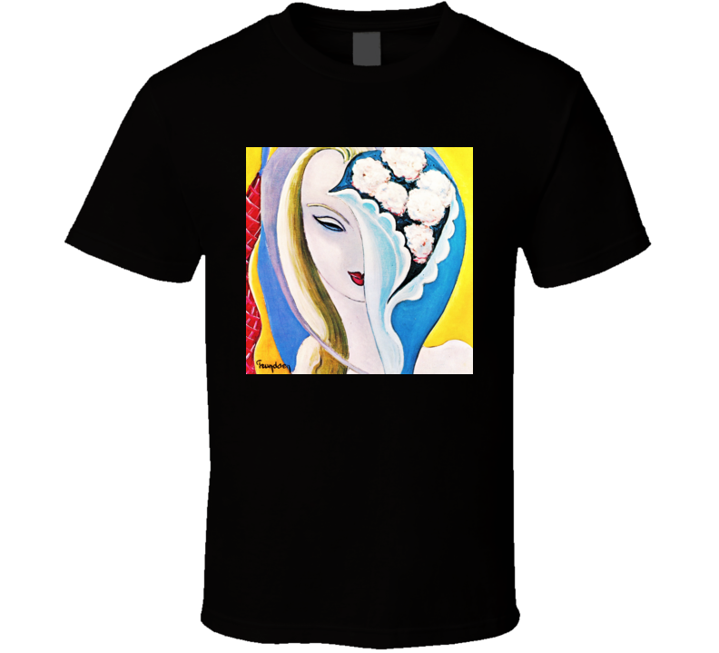 Derek and The Dominos  Album  Cover T shirt