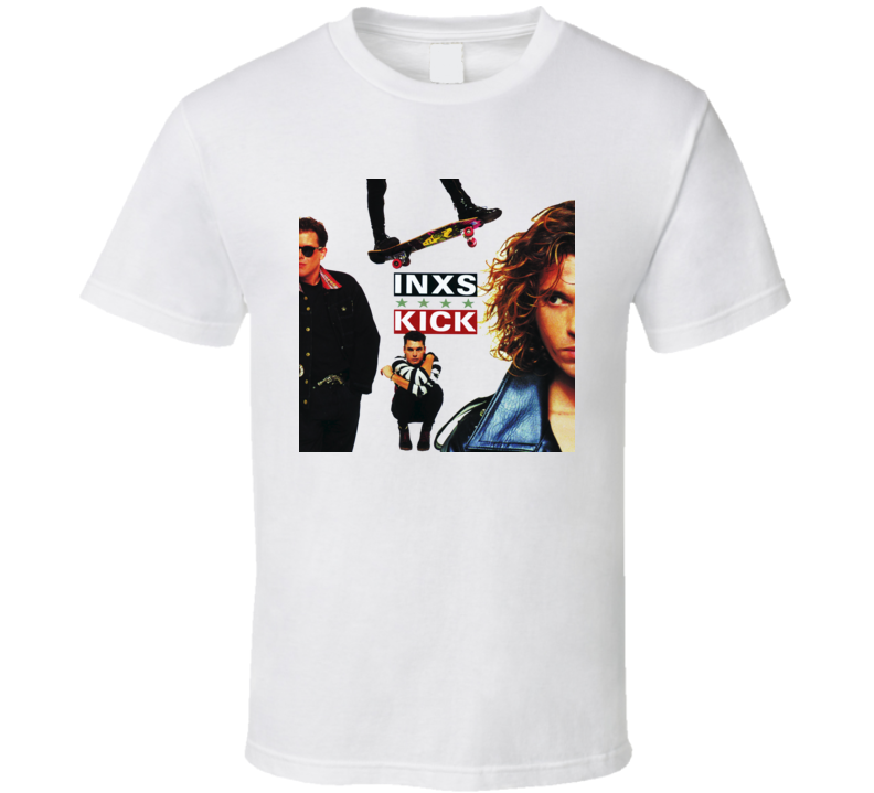 INXS Kick Album Cover T shirt
