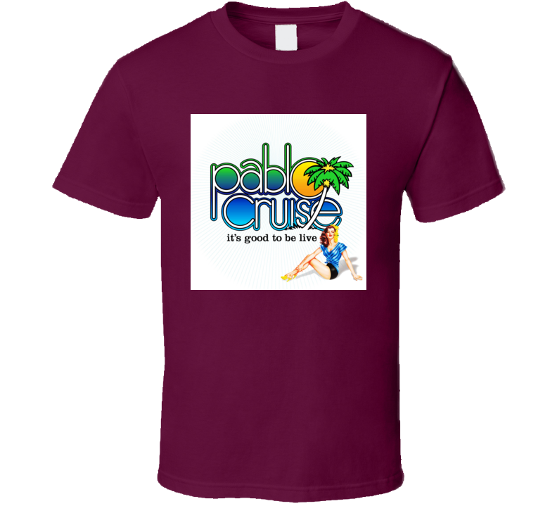 Pablo Cruise Logo T shirt