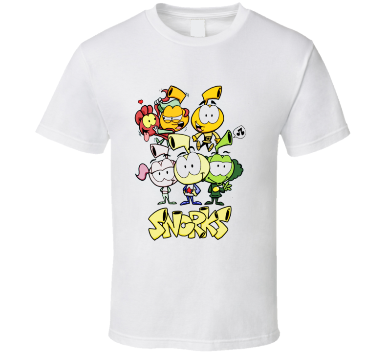 The Snorks Retro Cartoon T shirt