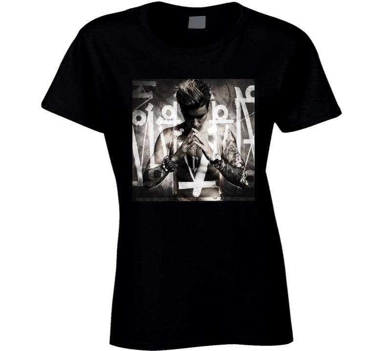 Justin Bieber Purpose album ladies t shirt