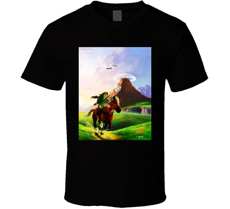 zelda ocarina of time games t shirt