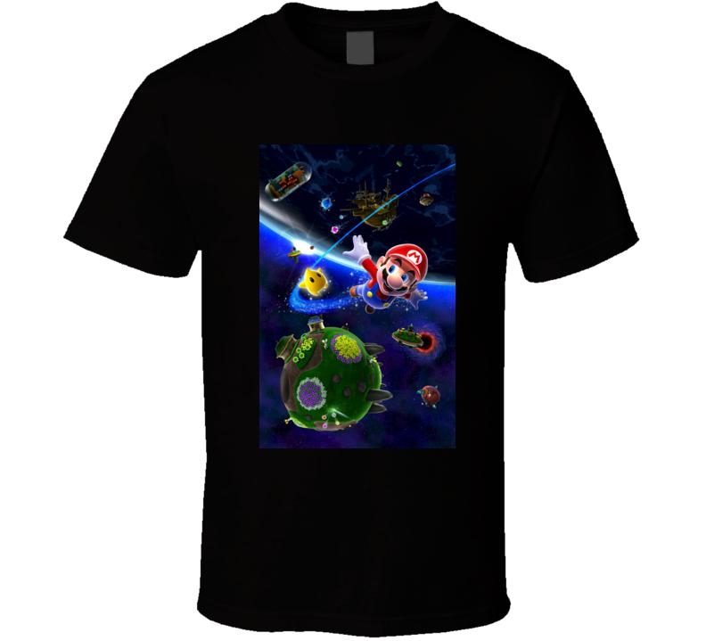 super mario galaxy 2 games t shirt