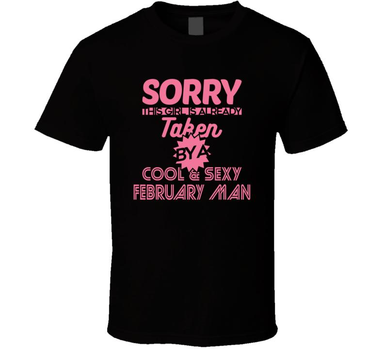 February Man T Shirt