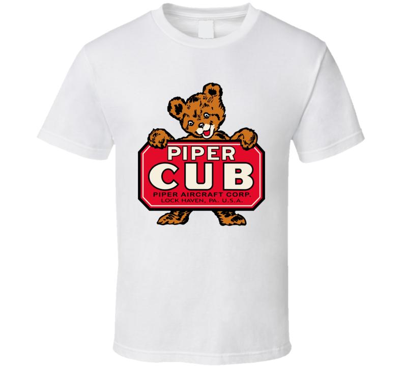 Vintage Piper Cub Banner T Shirt