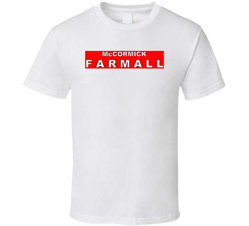 Mccormick Farmall Tractor T Shirt