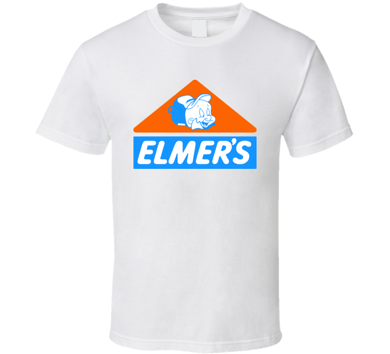 Elmers Fudd Glue Cartoon T Shirt