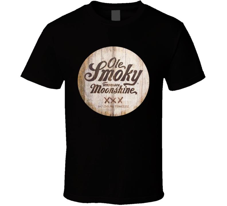 Ole Smoky Moonshine Old Style Booze Logo Tshirt