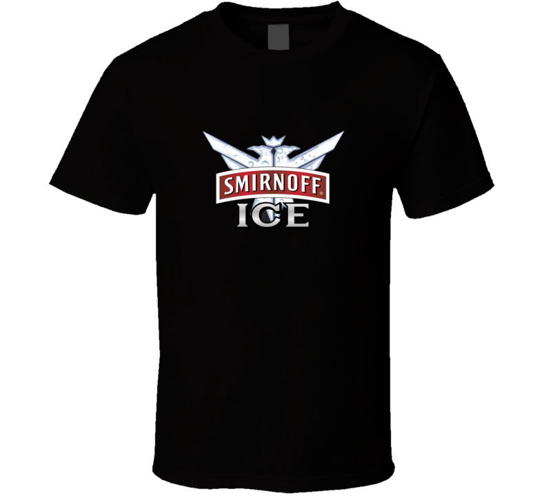 Smirnoff Ice Logo Booze Cool Drinking T Shirt