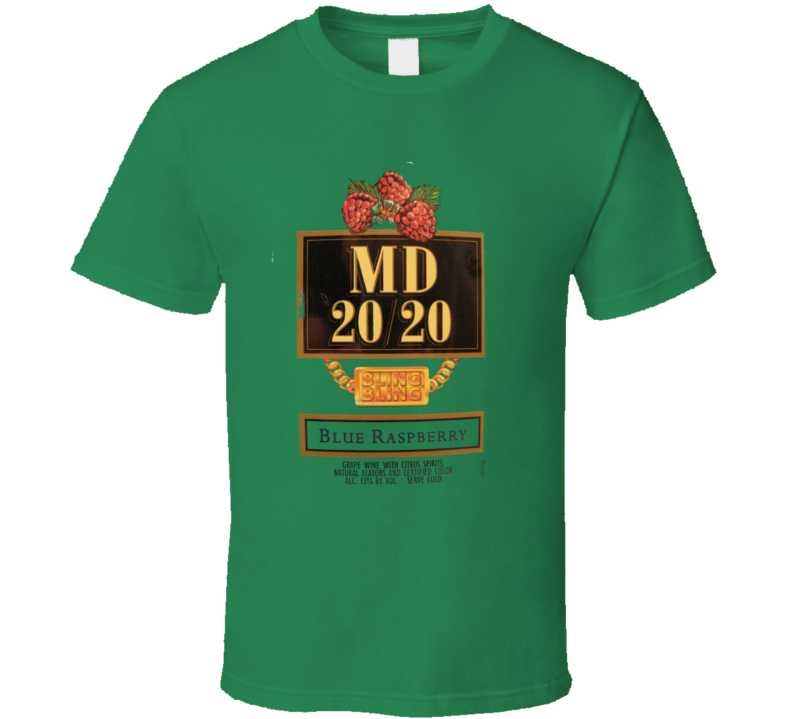 Mad Dog Classic Beer Logo T Shirt