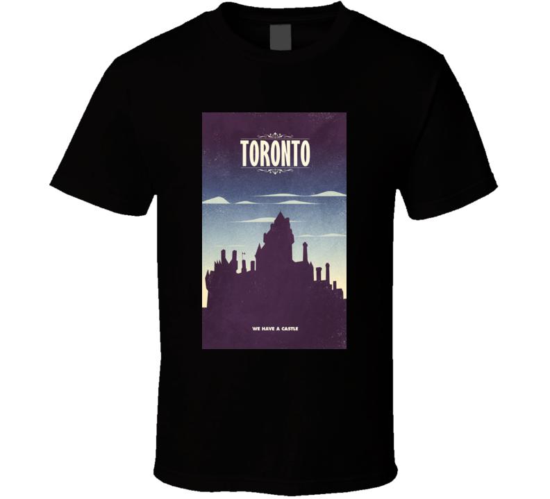 Toronto Castle City Canada Tshirt