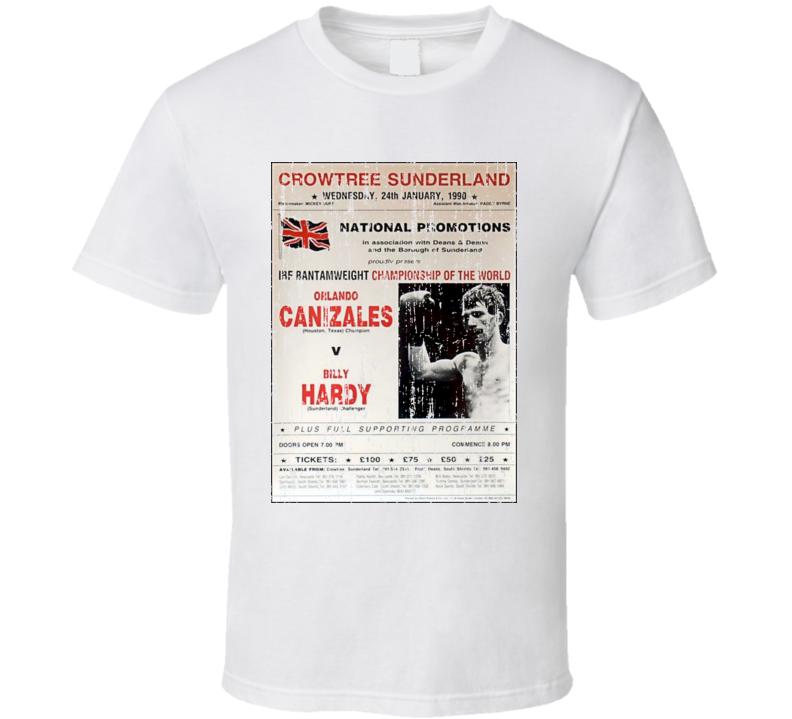 Orlando Canizales VS Billy Hardy Classic Boxing T Shirt