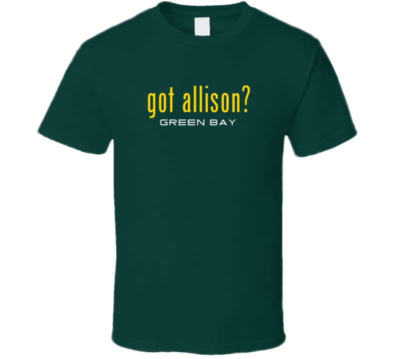 Got Geronimo Allison Green Bay Football Player Funny Fan T Shirt