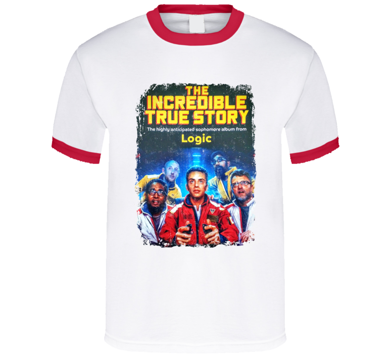 Logic The Incredible True Story Album cover Hip Hop Rap Music Tshirt