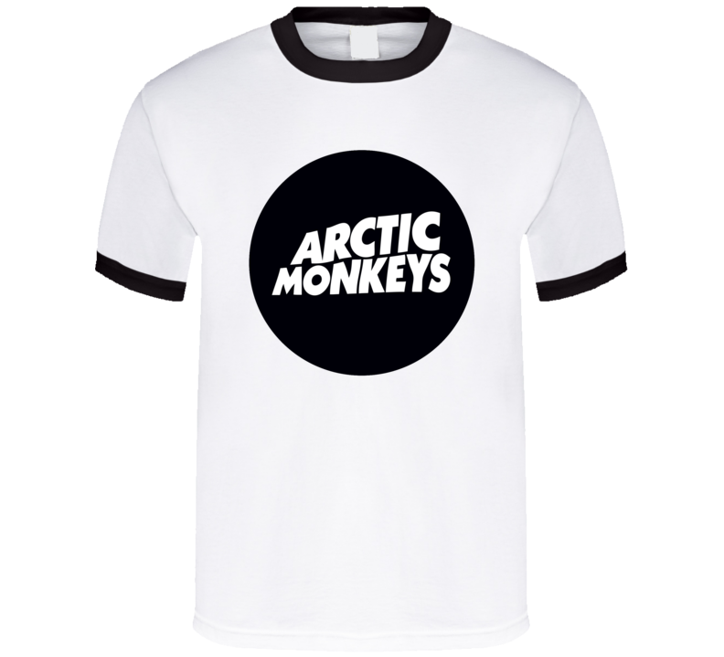 Arctic Monkeys Rock Music Band Logo Tshirt