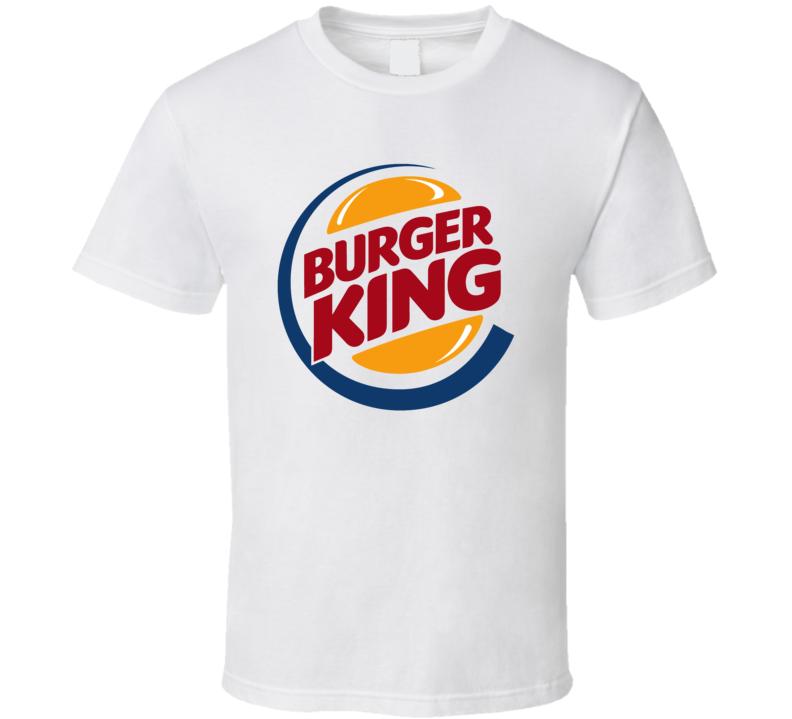 Burger King Fast Food Logo Tshirt