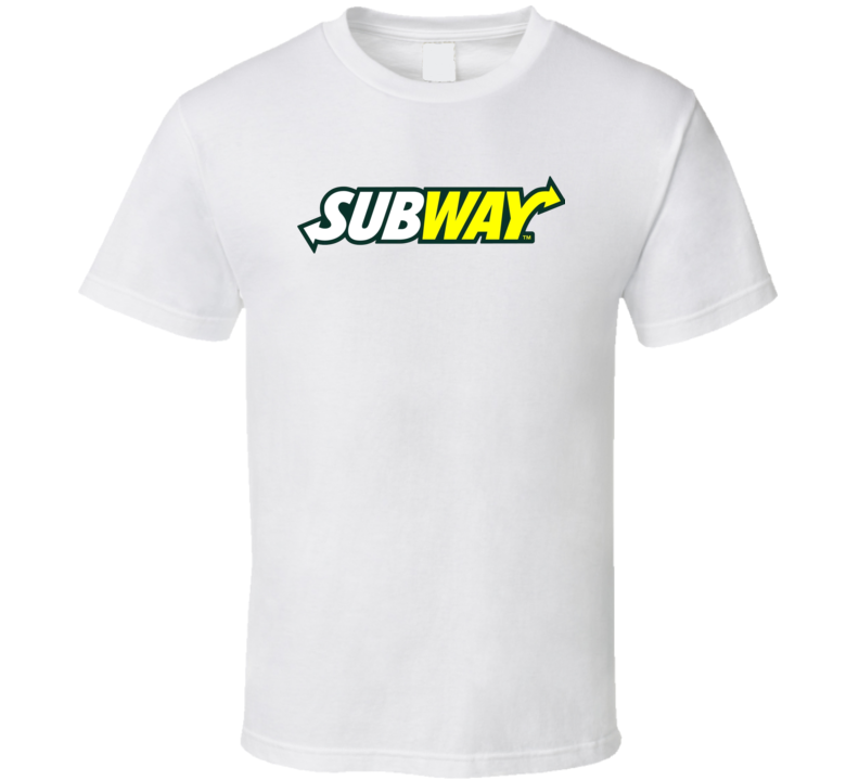 Subway Fast Food Logo Tshirt