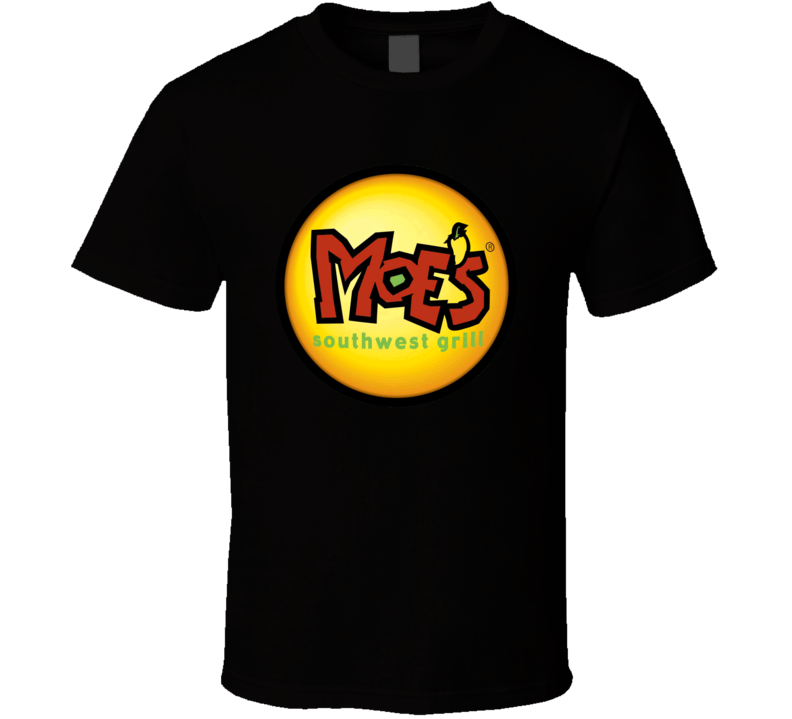 Moes Southwest Grill New York Restaurant Logo T Shirt