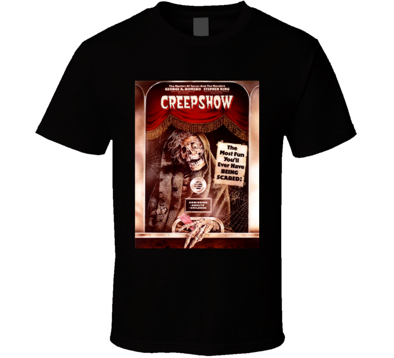 Creepshow Classic 80s Horror Movie Poster T Shirt