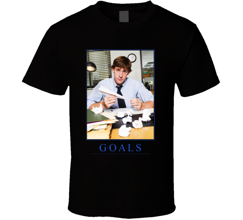 The Office Jim Halpert Goals T Shirt