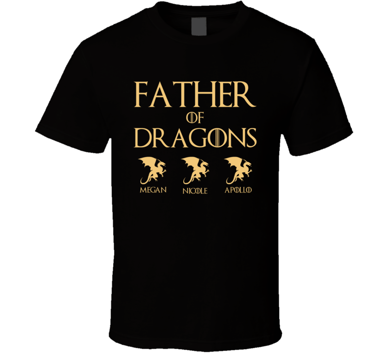 Father Of Dragons Megan Nicole Apollo T Shirt