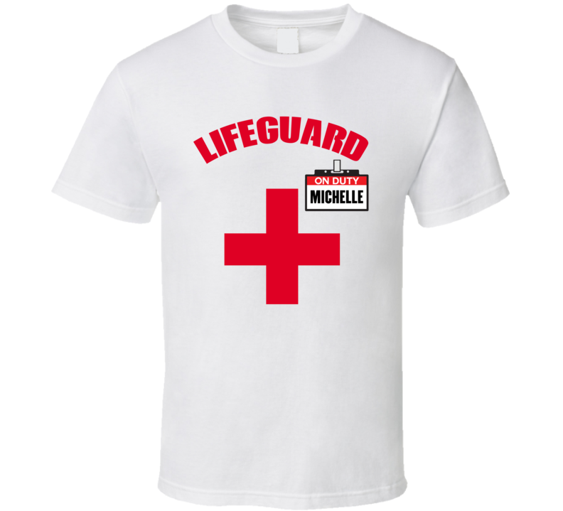 Michelle Lifeguard T Shirt