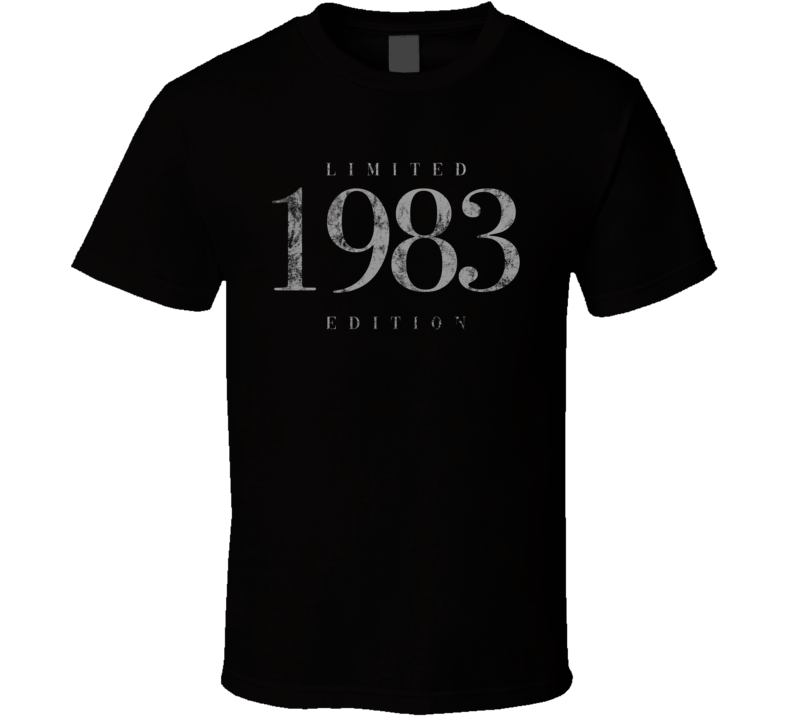 Limited Edition 1983 T Shirt
