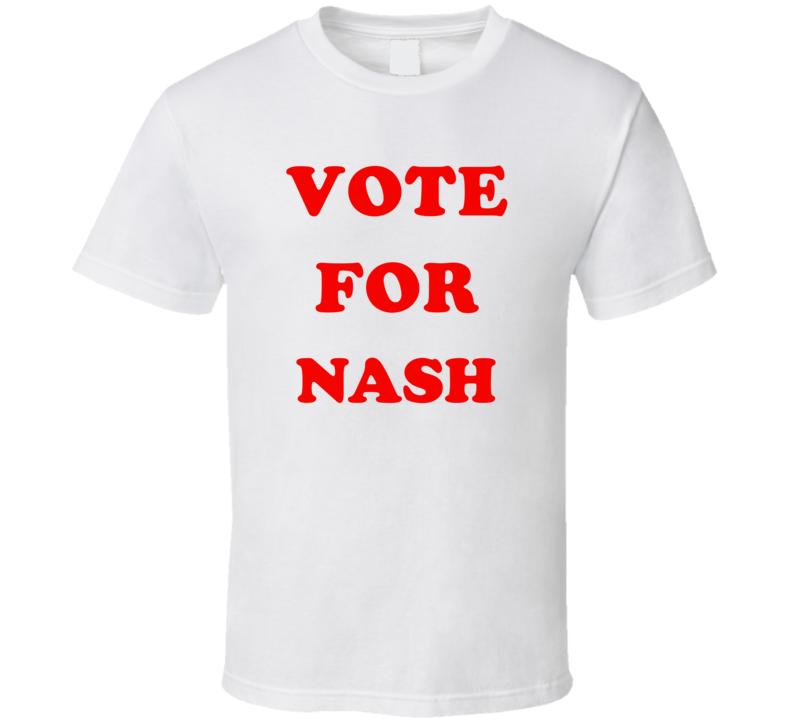 Vote For Nash Custom Cool Name T Shirt