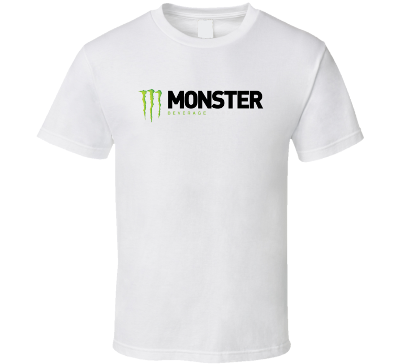 Monster Beverage Corporation Nasdaq Company Logo Employee T Shirt