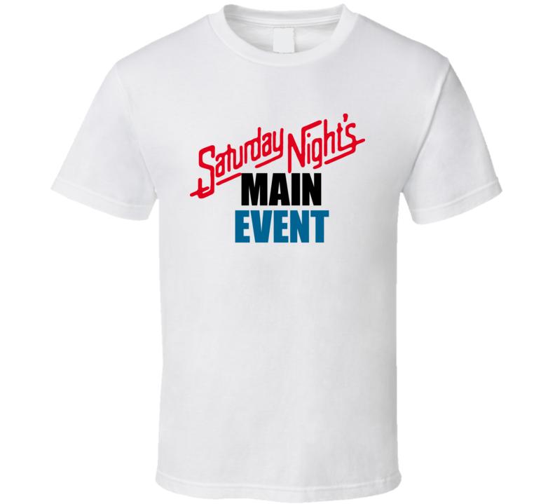Saturday Nights Main Event Wrestling T Shirt