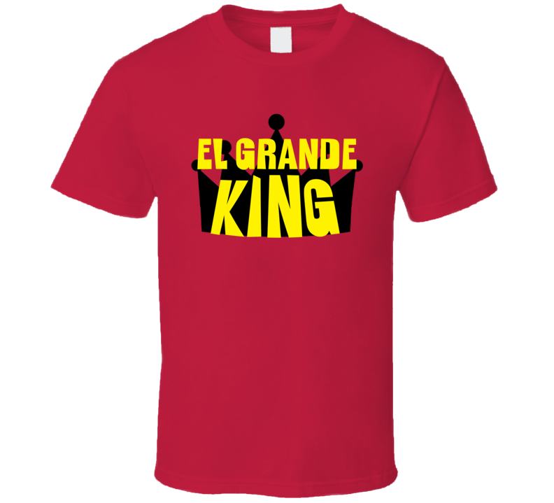 El Grande King Sports And Hobbies Master T Shirt