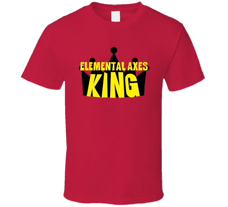 Elemental Axes King Sports And Hobbies Master T Shirt